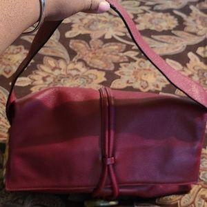 Burberry leather toggle shoulder bag
